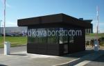 Охранителни павилиони за КПП над 10кв.м.