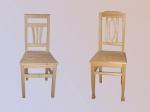 Дъбови столове