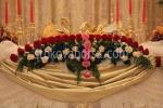 декорация с цветя за сватба