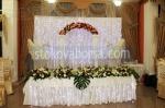 сватбена луксозна украса с цветя