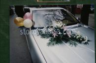 Украса на кола с цветя
