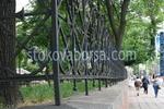 изработка на зидани огради от ковано желязо