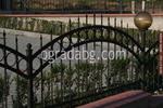 изработка на ниска ограда от ковано желязо