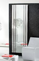 стъклен радиатор по поръчка тип огледало