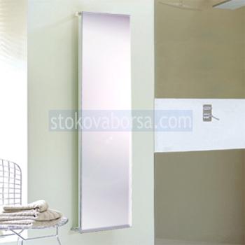 дизайнерски стъклен радиатор на парно