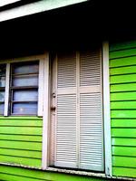 зелен винилов сайдинг