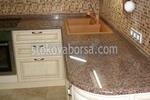 гранитно облицоване на кухненски плот