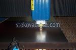 лазерно рязане на стомана