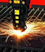 лазерно рязане на метални и дървени профили