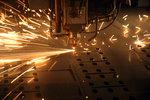 лазерно рязане на метал