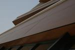 фасадна окачена дървена облицовка по поръчка