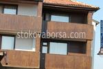 дървено облицоване на сгради