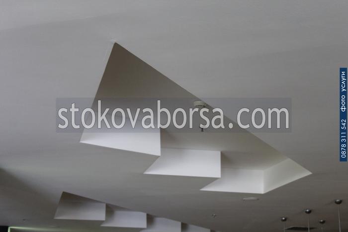 изработка на окачен таван по поръчка