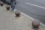 топки от бетон за непаркиране по поръчка