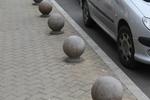 топки от бетон за непаркиране