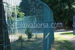 метална ограда от заварени мрежи