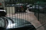 изработка на метални огради за паркинги от заварени мрежи