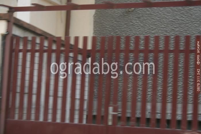 Метални огради по поръчка на клиент