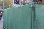 изработка на плътни метални огради с мрежа