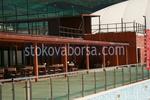 изработване на дървени навеси за спортни съоръжения