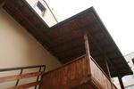 дървен навес  за тераса по поръчка