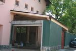 изграждане на дървени навеси за магазини