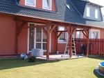 изграждане на дървена пристройка към къща