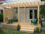 изграждане на дървена пристройка