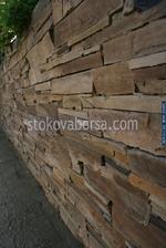 облицовка на огради с гнайс по поръчка