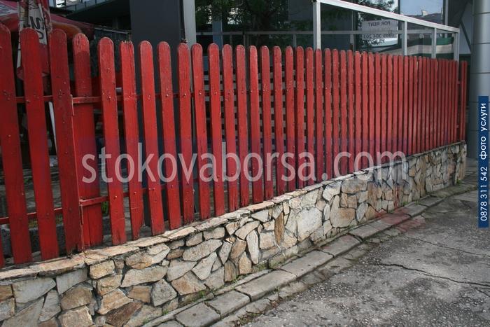 гнайс облицовки за огради