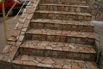 гнайсно облицоване на стълби