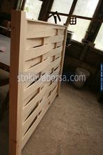 дървена ограда от дървено пано 200x150см.