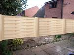 дървени огради от дървени пана 200x150см.