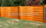 дървени огради от дървени пана 200x150см
