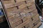 дървени огради от дървени пана 200x70см.