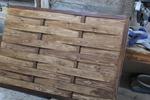 дървени огради от дървени пана 200x70см