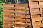 дървени пана 200x110см. за огради