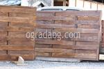 оградни пана от чам с размер 200x200см