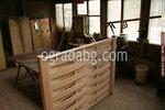 изработка на дървени пана за огради без лак