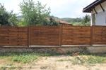 огради от дървени пана 200x125см