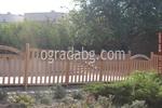 изработване на ниски дървени огради по размери на клиента