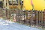 производство на ниски дървени огради по поръчка