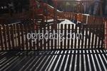 изработка по поръчка на дървени ниски оградни пана