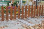 изработка по поръчка на ниски дървени огради