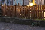 дървени оградни пана по поръчка