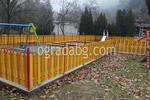 производство на ниски дървени огради