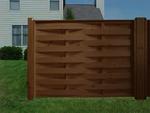 дървени огради от дървени пана 200x90см.