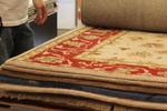 Ръчно вързани килими с вълнен тъфтинг с различни форми