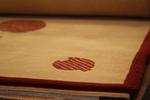 Ръчно вързани килими с вълнен тъфтинг с различни десени