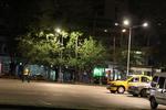 Метални стълбове за улично осветление